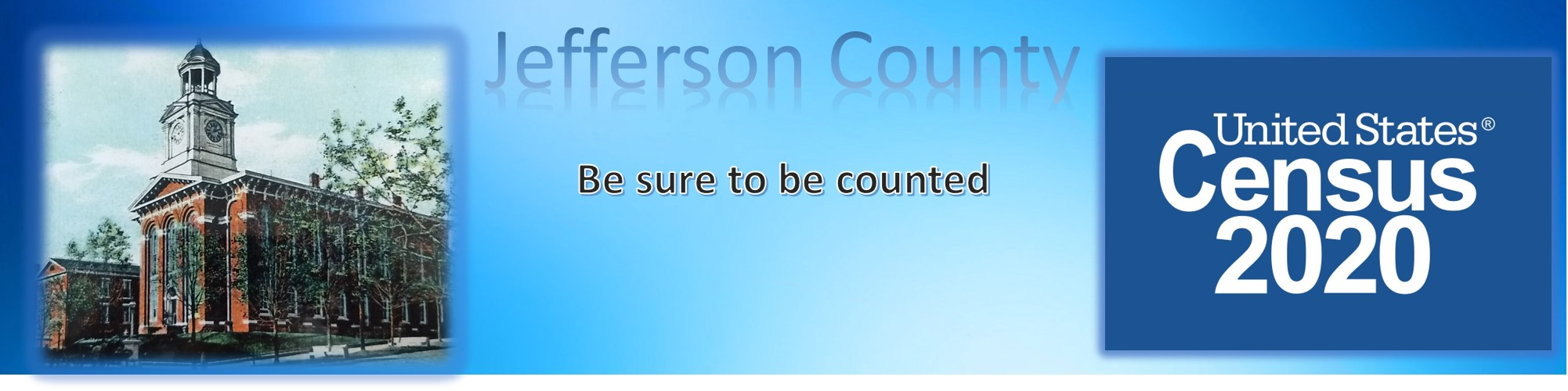Jefferson Census Banner